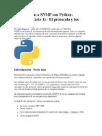 Introducción a SNMP Con Python