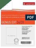 Installation Manual GENUS EXT GR 420010131100