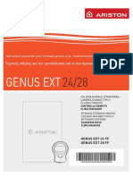 Installation Manual GENUS EXT GR 420010131100