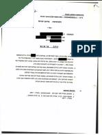ביטול כתב אישום המייחס עבירות אלימות במשפחה בעקבות חקירה נגדית של המתלוננת