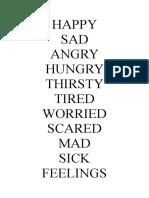 Chapter 4 Feelings