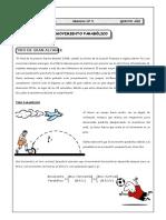 Movimiento Parabolico de Caida Libre Fisica 5to b Sec 19 de Junio