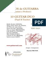 10 Faciles - Guitar Duo