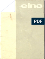 Elna Elnasuper 62c Manual Opt OCR Med