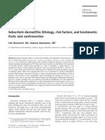Seborrheic Dermatitis of the Scalp Etiology and Treatment