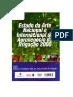 Estado Da Arte Nacional e Internacional Do Agronegócio Da Irrigação 2000, volume 2