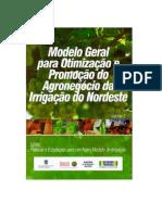 Modelo Geral Para Otimização e Promoção Do Agronegócio Da Irrigação Do Nordeste Do Brasil, volume 4.