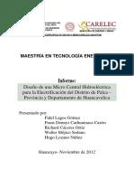 1 Informe Selectos III Grupo Hidráulico v 19.11.2012