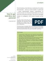 Lundquist CSR Online Awards Survey 2010