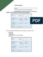 Retroactividad en SAP