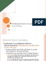 Introduction to Leukemia