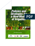 Policies and Strategies for a New Model of Irrigation - Document Synthesis