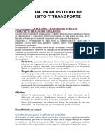 Manual Para Estudio de Transito Ytransporte[1]