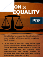 Final Presentation Equality