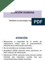Modelos de atención en Psicología Cognitiva