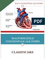 Malformațiile Congenitale Ale Inimii