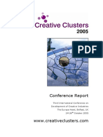 Creative Clusters - Conference Report