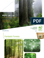 PEFC UK Ltd Stakeholder Presentation