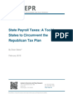 State Payroll Taxes