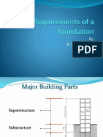 Basic Requirements of a Foundation