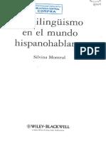 Montrul, S. (2012). Cap. 8 La Adquisición de Una Lengua Segunda [L2]