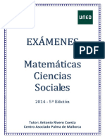 Examenes Matematicas CCSS 2014