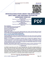 INVESTIGATION STUDY ABOUT THE INTELLIGENT ANTI-THEFT AND TRACKING SYSTEM FOR ARMOURED VEHICLES