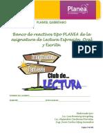 Manual de Reactivos Tipo Prueba ENLACE_Lectura_2016