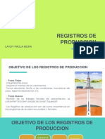 Registros de Produccion