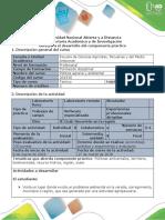 Guía de Actividades y Rúbrica de Evaluación - Tarea 3 – Identificar Problema Ambiental y Proponer Plan de Mitigación