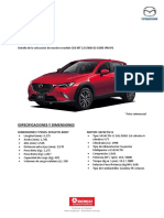 Cx3 Mt 2 0 2wd Gs Core Ipm Pe MAZDA
