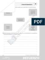 Ciencias Naturales, Tema 4, Ejercicios de Refuerzo y Ampliación