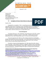 Heath Hall DOJ Letter