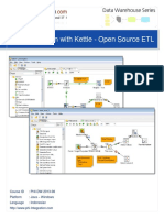 Data Integration With Kettle - Open Source ETL