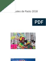 Carnavales de Pasto 2018
