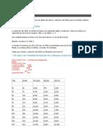 Cálculo de Capacidad DE CHILLER