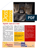 Carnet d Opera Rigoletto de Verdi
