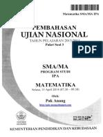 Pembahasan Soal UN Matematika Program IPA SMA 2014 Paket 3 (Full Version).pdf