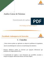 01_02 - Controle e Servomecanismos - Transformada de Laplace I