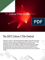 Culture y Film Festival Final