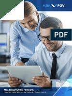 MBA Em Gestão Financeira, Controladoria e Auditoria FGV 2018 RJ