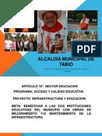presentacion EMPALME