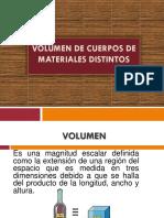 Volumen y Pesos Especificos