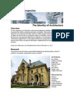 architecture assignment
