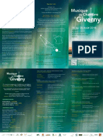 MDC Giverny 2016 Programme Trifold