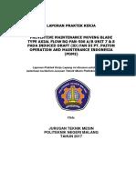 LAPORAN PRAKTEK KERJA LAPANGAN   DI PT. PAITON OPERATION AND MAINTENANCE INDONESIA
