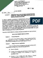 DAO 2004-26 - Amendments to RA8749