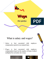 Wage and Salary Administration Wage Fixation, Factors-1