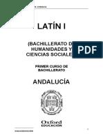 Progrmacion Exedra Latin 1 BACH Andalucia