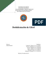 Trabajo Deshidratacion Con Glicol (1)